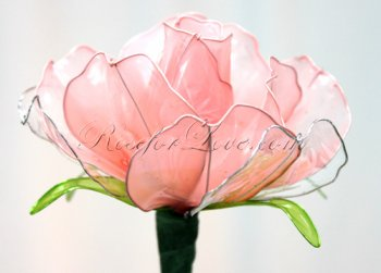 150 Crystal-Like Pink Roses (3 Color Options)