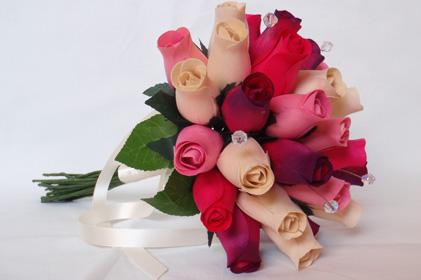 Everlasting Wooden Roses Everlasting Love